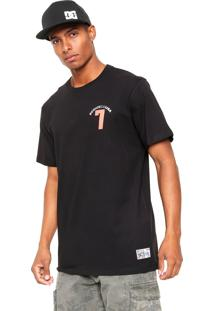Camiseta Dc Shoes Bas Lucky Seven Preta