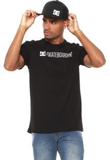 Camiseta Dc Shoes Skateboarding Preta