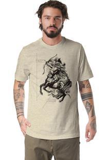 Camiseta Rulfini Store Sagittarius Areia