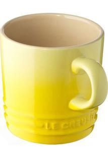 Caneca De Cappuccino 200 Ml Amarelo Soleil Le Creuset