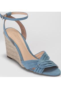 Sandã¡Lia Amaro Anabela Cruzada Azul - Azul - Feminino - Dafiti