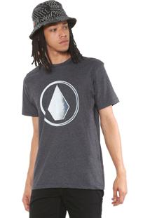 Camiseta Volcom Removed Cinza