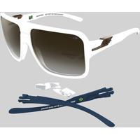 Óculos De Sol Mormaii Snapper - Masculino-Branco c67ab7ed5b