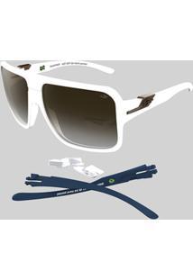 Óculos De Sol Mormaii Snapper - Masculino-Branco