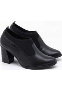 Ankle Boot Comfortflex Preta