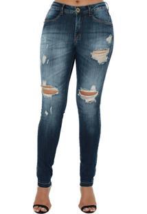 ed78f1697 ... Calça Jeans Denuncia New Skinny Azul