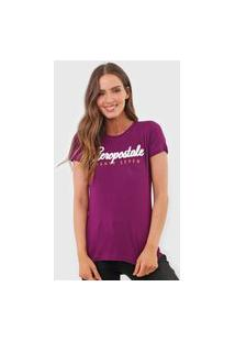 Camiseta Aeropostale Eighty Seven Roxa