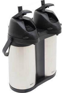 Garrafa Térmica Total Inox Airpot 3,8L Dupla Mor