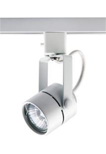 Spot Trilho De Metal Pharos 16Cmx6Cmbella Iluminação - Caixa Com 2 Unidade - Branco
