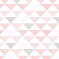 b42ca0b03 Papel De Parede Adesivo Stickdecor Geométrico Triângulos Rosa E Cinza