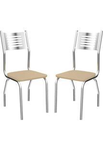 Cadeira Munique 2 Peças Nude - Kappesberg-Nude
