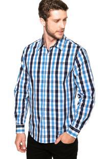 Camisa Colcci Textura Xadrez