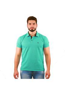 Camisa Polo Tarpo Micro Elementos Verde