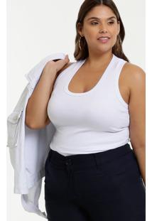 Regata Feminina Nadador Básica Plus Size