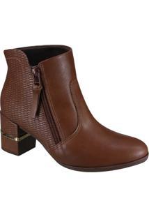 Bota Comfortlex Ankle Boot Feminina