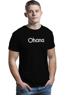 Camiseta Hunter Ohana Preta