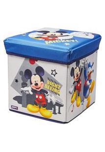 Porta Objeto E Banquinho - Mickey Mouse - Zippy Toys Pjb18Mc