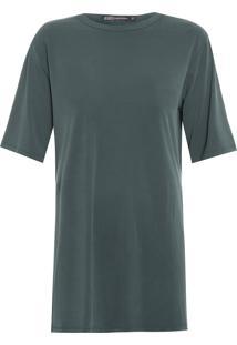 Blusa Feminina Samantha Militar - Verde