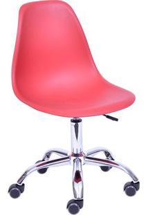 Cadeira Eames Dkr- Telha & Prateada- 93X47X41Cm-Or Design
