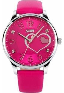 Relógio Skmei Analógico 9085 - Feminino-Rosa