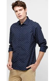 Camisa Forum Ml Regular Mini Print - Masculino