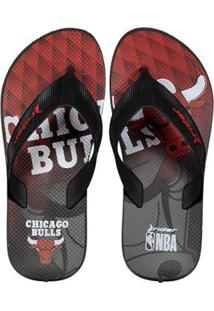 Chinelo Rider Nba Chicago Bulls Masculino - Masculino