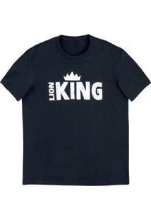 Camiseta Unissex Com Estampa - Rei Leão
