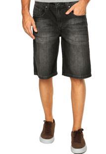 Bermuda Jeans Volcom Solver Preta