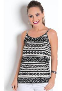 319bb8e1ee Blusa Etnica Moda Pop feminina