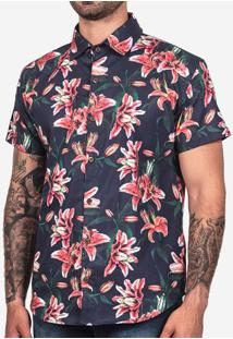 Camisa Tropical Azul 200133
