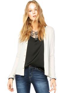 Camisa Marialicia Recorte Off White