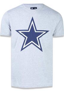 Camiseta New Era Basico Dallas Cowboys Mescla