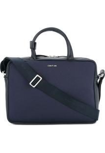 dfad00a515 ... Cerruti 1881 Bolsa Para Laptop Em Couro - Azul