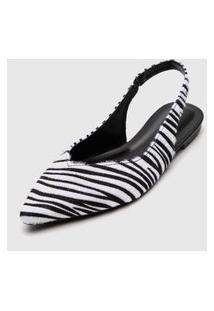 Sapatilha Forever 21 Zebra Preto/Branco