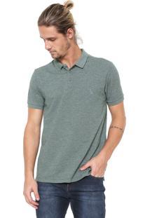 b352276434 ... Camisa Polo Reserva Reta Rústica Verde