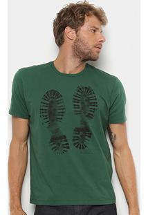 Camiseta Ellus Estampa Coturno Masculina - Masculino