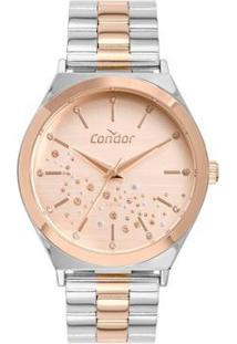 Relógio Condor Feminino Prata Analógico Co2036Kxs5J - Feminino