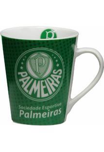 Caneca De Porcelana Palmeiras - Unissex