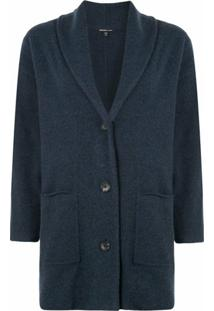 James Perse Cardigan Oversized De Tricô - Azul