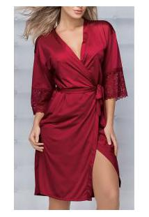 Robe Demillus Nupcial (31005) Carmim