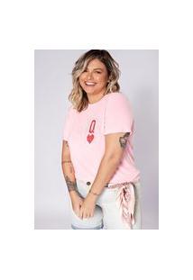 Camiseta Preview Queen Rosa