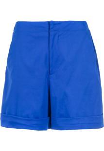 Tufi Duek Short Alfaiataria - Azul