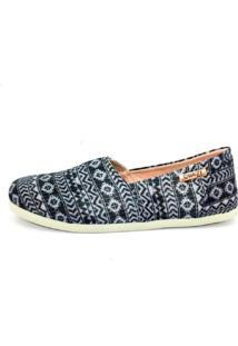 Alpargata Quality Shoes 001 Azul Brilho - Tricae