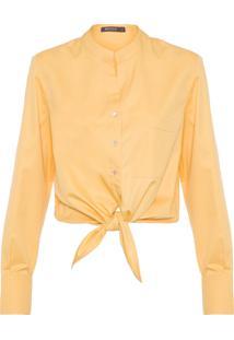 Camisa Feminina Yellow - Amarelo