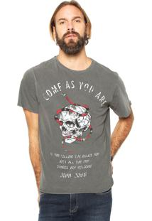 Camiseta John John Come Cinza