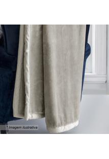 Cobertor De Casal - Bege - 180X220Cmsultan