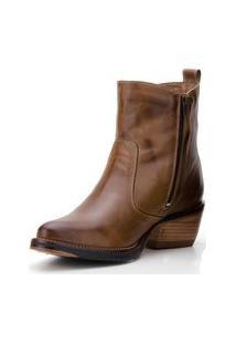 Bota Country Em Couro Capelli Boots Marrom