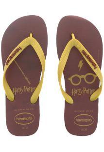 Chinelo Havaianas Harry Potter Fc - Masculino - Vinho