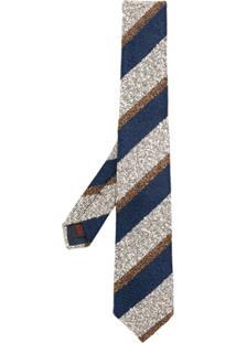 Tagliatore Gravata De Tricô - Azul