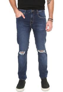 Calça Jeans John John Skinny Azul